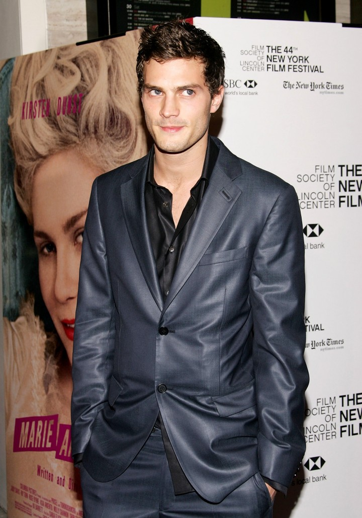 NEW YORK - OCTOBER 13: Model/actor Jamie Dornan arrives at The New York Film Festival screening of ''Marie Antoinette'' at the Alice Tully Hall on October 13, 2006 in New York City.