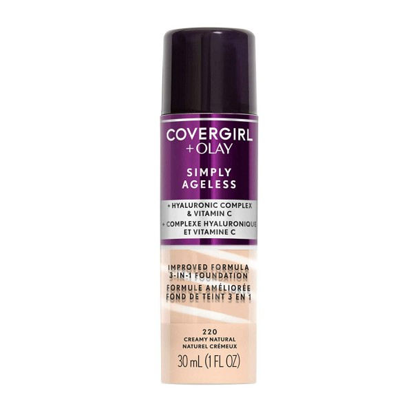Coovergirl + Olay SImply Ageless Foundation