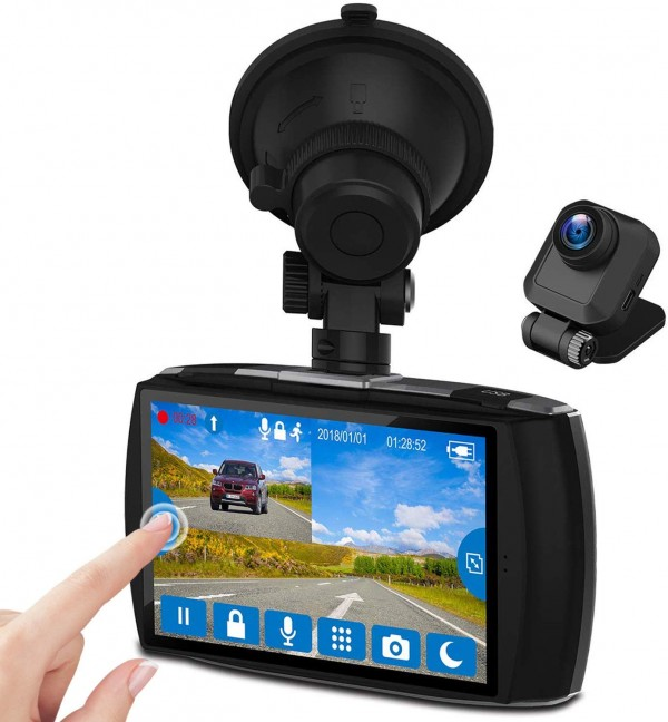 Z-Edge Dash Cam Front and Rear 4.0