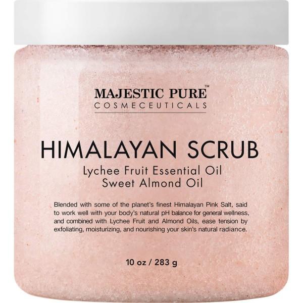Majestic Pure Himalayan Salt Scrub