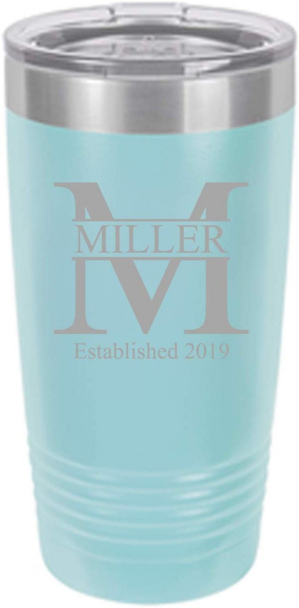 Sofia's Findings Personalized Stainless Steel Tumbler 20oz