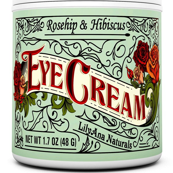 LilyAna Naturals Rosehip & Hibiscus Eye Cream