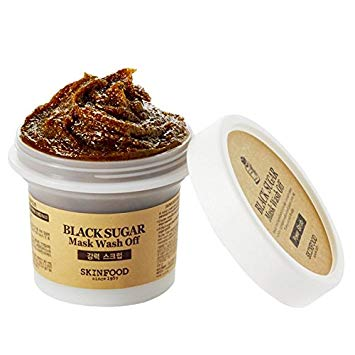 Skinfood Black Sugar Mask Wash Off Exfoliator 3.53 Ounce