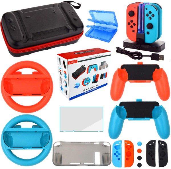 Accessories Kit for Nintendo Switch Games