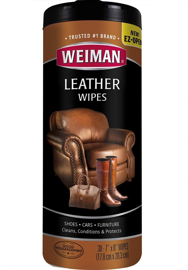 Weiman Leather Wipes
