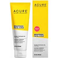 ACURE Brightening Facial Scrub 100% Vegan