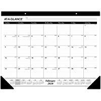 At-A-Glance 2020 Desk Calendar Desk Pad