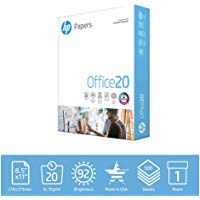 HP Printer Paper Office 20LB Letter Size 500 Sheets
