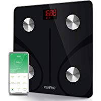 RENPHO Bluetooth Body Fat Scale Smart BMI Scale Digital