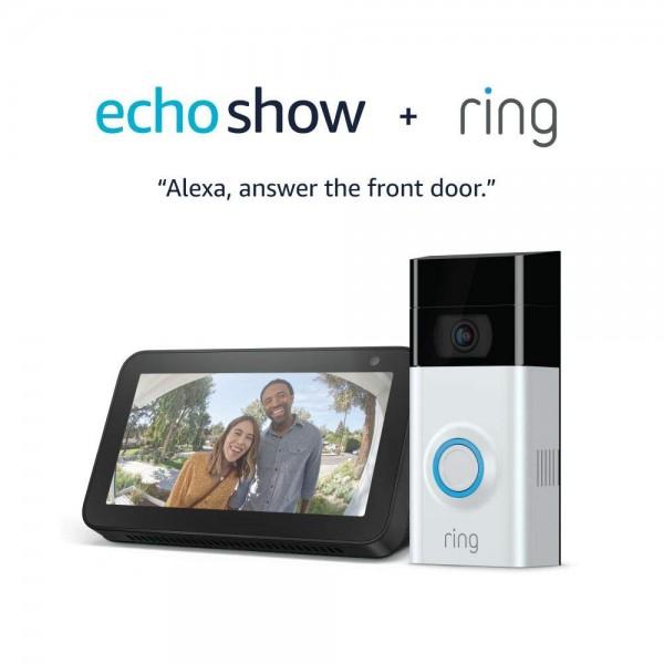 Ring Video Doorbell 2 with Echo Show 5