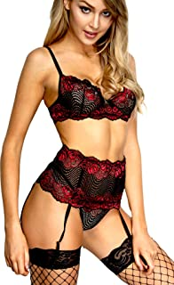 Lingerie Sets Baby Doll Three-Piece Set