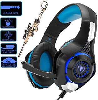 Pro Gaming Headset for PC PS4 Xbox One Surround Sound