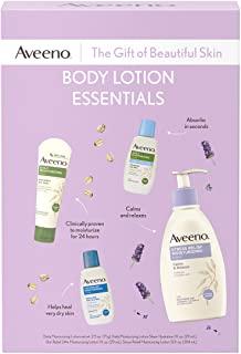 Aveeno Body Lotion Essentials Skincare Gift Set