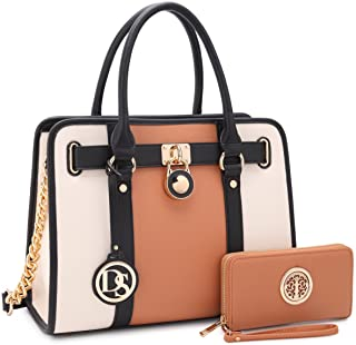 DASEIN Women's Fashion Handbags Shoulder Bag Satchels