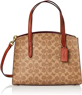 COACH Women's Coated Canvas Signature Charlie 28 Carry All