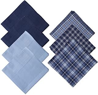 Y&G Men's Fashion Design Cotton Handkerchiefs