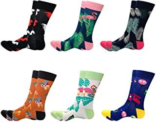 WallchauG Men Dress Socks