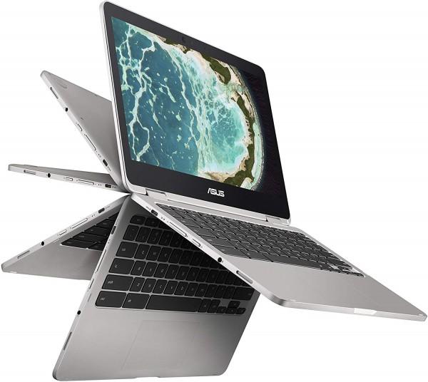 Asus C302CA-DHM4 Chromebook Flip 12.5-Inch Touchscreen Convertible Chromebook,