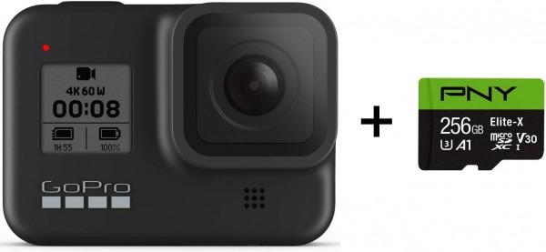 GoPro HERO8 Black + PNY Elite-X 256GB