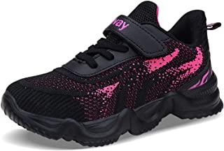FEITAI Kids Tennis Shoes Lightweight Running Shoes