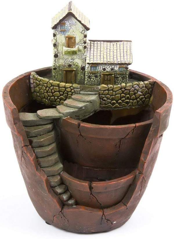 Plant Pot, Hgrope Mini Size Creative Fairy Garden Plant Containers