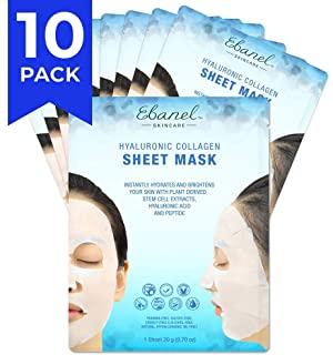 Ebanel 10 Pack Korean Collagen Face Mask Sheet
