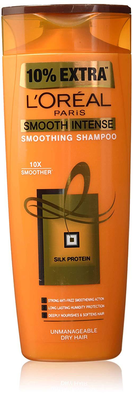 L'Oreal Paris Smooth Intense Shampoo, 360ml (With 10% Extra)