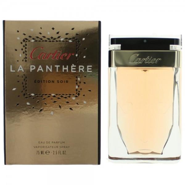 Çártíér La Panthere Edition Soir by Çártíér for Women Eau De Parfum Spray 2.5 oz