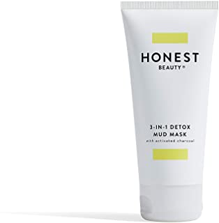Honest Beauty 3-in-1 Detox Mud Mask with Activated Charcoal