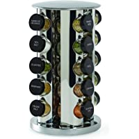 Kamenstein 30020 Revolving 20-Jar Countertop Spice Rack
