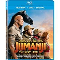 Jumanji: The Next Level Blu Ray