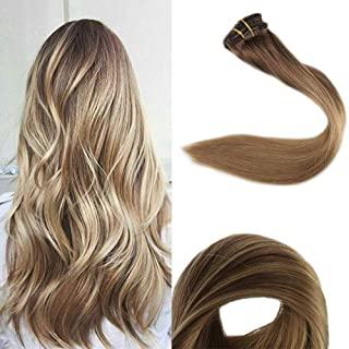 Full Shine Clip Hair Extensions 12-Inch