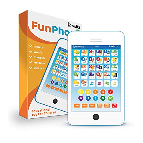 Learning Pad  Kids Phone with 6 Toddler Learning Games