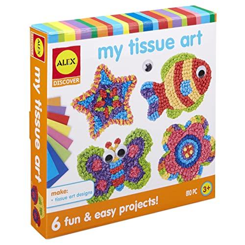 Alex Discover My Tissue Art Kids Art and Craft Activity