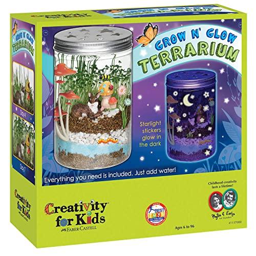Creativity for Kids Grow N'Glow Terrarium Science Kits for Kids