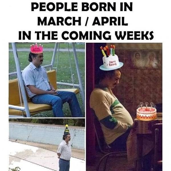 Quarantine Birthday Memes