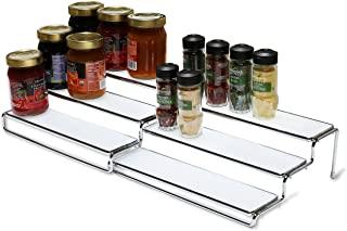 DecoBros 3 Tier Expandable Cabinet Spice Rack