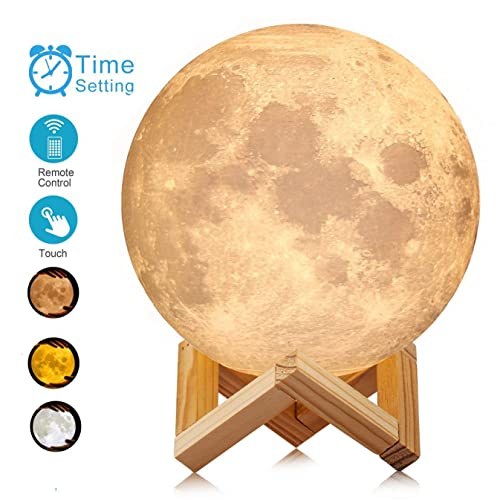 ACED 7.1 Inch Large Moon Lamp Touch Sensor