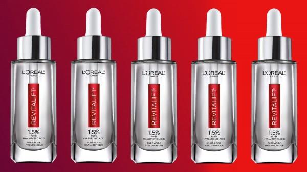 Hyaluronic Acid Serum for Skin, L'Oreal Paris