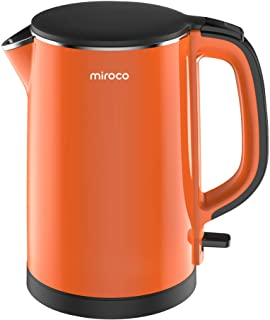 Electric Kettle Miroco Double Wall 100% Stainless Steel