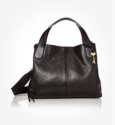 Fossil Women's Maya Leather Satchel Handbag
