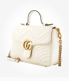 Gucci Ladies Marmont Small Top Handle Bag