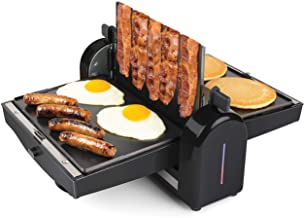 HomeCraft FBG2 Nonstick Electric Bacon Press and Griddle