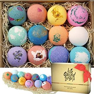 LifeAround2Angels Bath Bombs Gift Set of 12