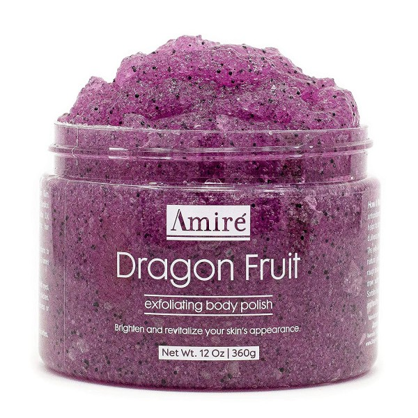 Amire Dragon Fruit Jelly Exfoliating Body Scrub Polish