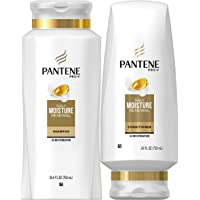 Pantene Moisturizing Shampoo and Conditioner for Dry Hair