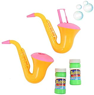 Dazzling Toys Saxophone Bubble Blowing