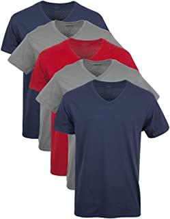 Gildan Men's Assorted V-Neck Shirts