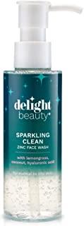 Delight Beauty Sparkling Clean Zinc Face Wash