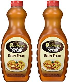 Blackburn's Pancake & Waffle Syrup Butter Pecan